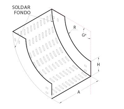 bandeja portacable diagrama